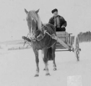 Otto Veander ja Isma 1940-luvulla